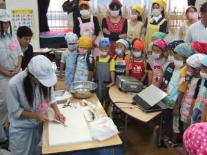 保育園での魚食教育活動