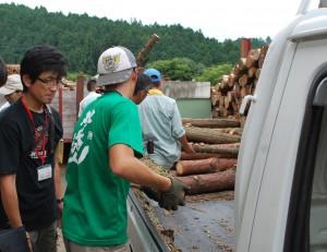 木こり市場