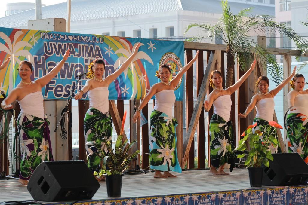 宇和島Hawaiianフェスティバル(小)